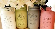 Image result for how to paint a chevron on a mason jar