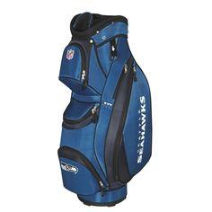 Seattle Seahawks NFL Cart Bag by Wilson.  Buy it @ ReadyGolf.com
