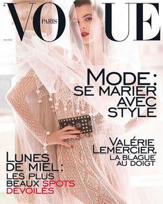 Vogue Paris Cover May 2017  Photographer : Mario Testino  Stylist : Anastasia Barbieri  Hair & Make-up : Christian Houtenbos