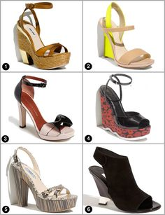 Most Wanted: Our 6 favorite shoe trends for spring!