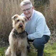 RSPCA announces Jeremy Cooper as new chief executive Pictured with his 3 year old Airedale, Daisy