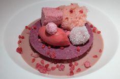 LAMPONE 1.1, HEINZ BECK - #lampone #sweet #heinzbeck #lapergola #romecavalieri #chef #michelin #starred #pink