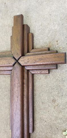 Wooden Crosses, Wall Crosses, Barn Wood Mirror, Catholic Religious Education, Rustic Cross, American Walnut, Salvaged Wood, Christmas Decorations, Holiday Decor