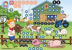 Interactieve praatplaat, kleuteridee, Kindergarten farm theme