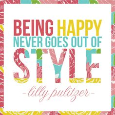 May Richer Fuller Be: Lilly Pulitzer Typographic Quote Art {Summer Soiree Style Series}