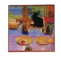 After Lunch with Pierre Bonnard Cat Refrigerator Magnets