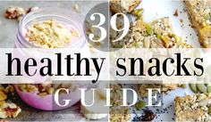 Grab the FREE Healthy Snacks Guide! // Just Because YOU are AWESOME!