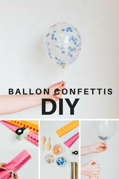 5a779b6f8a4 Faire un ballon confettis - Marie Claire Idées Deco Cirque