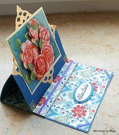 Karte, Easel-Card, Handarbeit