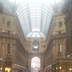 Galleria Vittorio Emanuele II Milano #italy #europe #shopping #beautiful