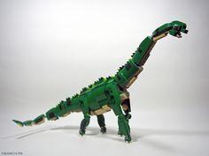 Brachiosah urus Lego Dinosaurus, Legos, Lego Dragon, Animal Mashups, Micro Lego, Lego Animals, Lego Jurassic World, Amazing Lego Creations, Lego Bionicle