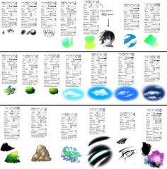 tutorial textura sai - Buscar con Google