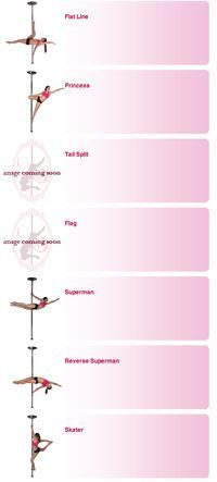 Pole Dance Training - Advanced poses part 2