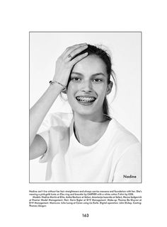 Nadine Martin for The Gentlewoman SS 2013