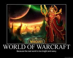 World of Warcraft by ~deathwarmedover on deviantART.    ROFL!