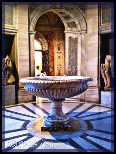 Musei Vaticani -vasca in marmo
