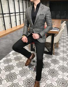 blazer work outfit BLAZERS is part of Blazer outfits men - Blazer Outfits Men, Mens Fashion Blazer, Stylish Mens Outfits, Suit Fashion, Casual Outfits, Men Blazer, Womens Fashion, Style Fashion, Moda Formal