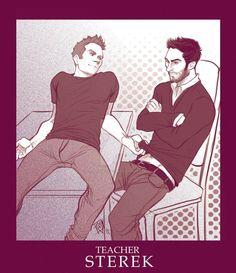 STEREK TEACHER comic commission by Slashpalooza ||| FULL COMIC HERE: http://slashpalooza.deviantart.com/gallery/49995739/STEREK-COMIC-COMMISSION