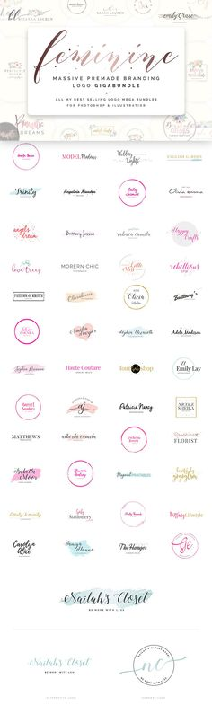 $5,000+ worth of best selling and most popular Premade Branding Logo Templates, PowerPoint Template, Social Media Pack and Resume Templates are offered into this pack just for $29 :) The Biggest Premade Branding Logo Gigabundle of CreativeMarket to save your tons of time! Premade logos are so popular because they are easy to use, time saving, classy and creative. You must be delighted with your new Brand Design, because unlimited possibilities are here at this giga bundle.