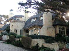 Fairy tale cottage in Carmel, California