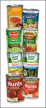 """Click through for Hungry Girl's favorite reduced-salt products from the grocery shelves in several categories: canned goods (shown), condiments, and """"meals 'n more."""""""