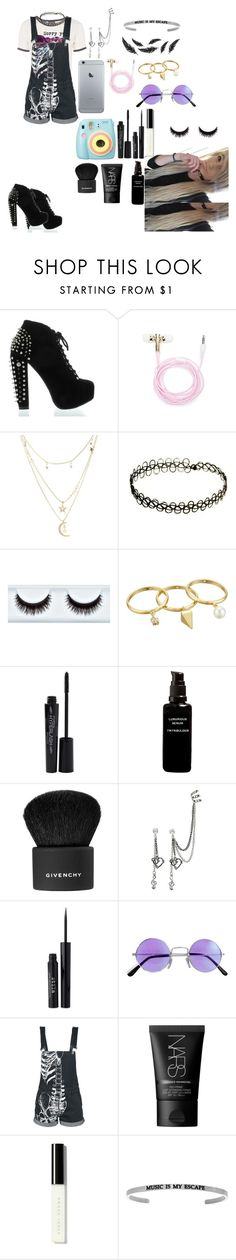 """""""Untitled #189"""" by jayy-biersack ❤ liked on Polyvore featuring Forever 21, Charlotte Russe, Polaroid, Rebecca Minkoff, Smashbox, I'm Fabulous, Givenchy, Stila, NARS Cosmetics and Bobbi Brown Cosmetics"""