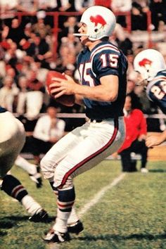 Jack Kemp quarterbacked the Bills during their two AFL titles in 1964 and 1965. He then served on the U.S. House of Representatives after his playing career ended.