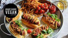 'CHORIZO' VEGAN HOT DOGS | @avantgardevegan by Gaz Oakley - you can freeze them after cooking!