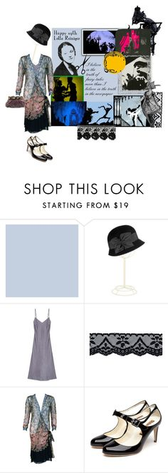 """""""Happy Birthday Lotte Reiniger!"""" by cocodobard ❤ liked on Polyvore featuring Eric Javits, Rupert Sanderson, vintage and country"""