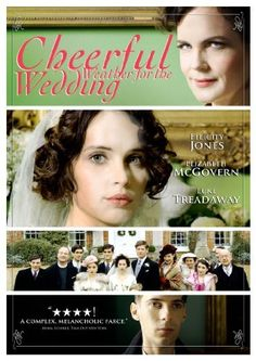 Cheerful Weather for the Wedding - A young woman frets upstairs in her family's country manor on her wedding day, fearful she's about to marry the wrong man. Downstairs, both her fiancé and her former lover grow increasingly anxious. Netflix Movies To Watch, Good Movies To Watch, Great Movies, Netflix Titles, Period Drama Movies, Period Dramas, Elizabeth Mcgovern, Tv Series To Watch, Wedding Movies