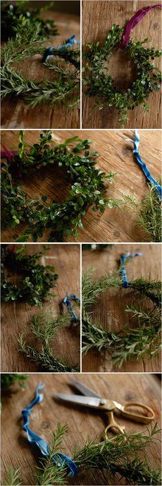 herbal wreaths...