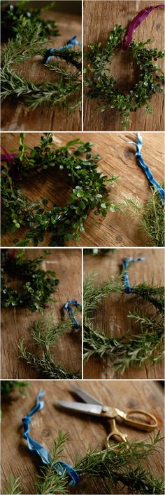 herbal wreaths...