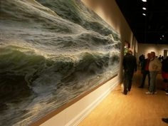 Ran Ortner, 52 year old New York-based artist, found his vocation in implementing his love to surfing and sea through Canvas Oil Paintings