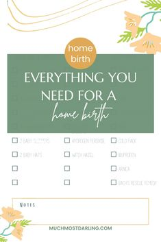 Having a home birth? Boise mom blogger shares what home birth supplies you'll need and how to prepare your home for a home birth! What do I need to have at home for a home birth? How do I prepare my house for a home birth? Free 3 page printable home birth supplies and info checklist Nugget Ice Maker, Ice Chips, Pool Kits, Newborn Diapers, Baby Sleepers, Attachment Parenting, Plastic Sheets, 2nd Baby, Receiving Blankets