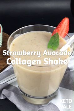 Looking for a keto-friendly protein shake? Try this Keto Strawberry Avocado Collagen Shake Recipe Looking for a keto-friendly protein shake? Try this Keto Strawberry Avocado Collagen Shake Recipe Strawberry Protein Shakes, Keto Protein Shakes, Keto Shakes, Protein Shake Recipes, Protein Milkshake, Protein Smoothies, Apple Smoothies, Smoothie Diet, Recipes