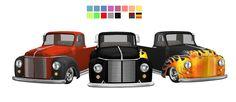 3T4 Rockabilly Hot Rod Truck   Sims 4 Designs