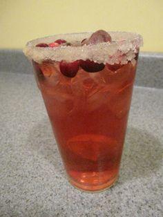 Cranberry Ginger Margarita