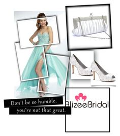 """""""Untitled #92"""" by azrahadzic ❤ liked on Polyvore featuring Dyeables and alizeebridal"""