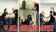 BEST SELF-DEFENSE MOVES everyone should know against common attacks! These are easy and effective self-defense techniques for beginners, especially women, us. Self Defense Classes, Self Defense Moves, Best Self Defense, Krav Maga Kids, Learn Krav Maga, Krav Maga Techniques, Self Defense Techniques, Israeli Self Defense, Female Trainers