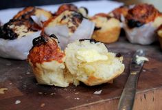 Marmite & cheese beer bread bites