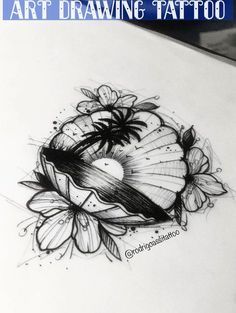 me the para tatuar! Kitsune Tattoo - Bc me the para tatuar! Body Art Tattoos, Sleeve Tattoos, Cool Tattoos, Awesome Tattoos, Sea Life Tattoos, Drawing Tattoos, Forearm Tattoos, Beach Theme Tattoos, Beach Inspired Tattoos