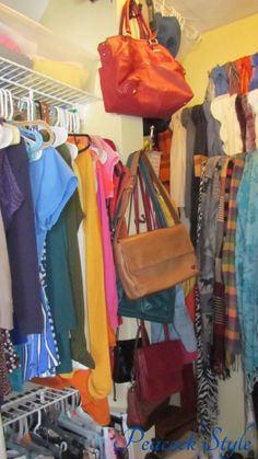 Pocketbook storage ideas