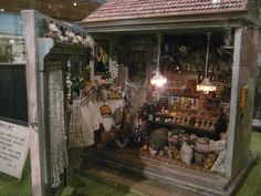 Taiwan dollhouse miniatures museum by goldieholl, via Flickr
