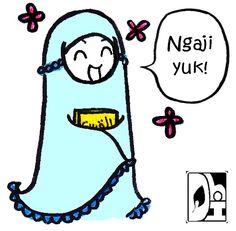 Ngaji  C B Muslimgraffiti