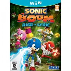 Shop for Sonic Boom: Rise Of Lyric (nintendo Wii U). Starting from Choose from the 4 best options & compare live & historic video game prices. Playstation, Xbox 360, Nintendo Wii U Games, Wii Games, Sonic Boom, Game Sonic, Knuckles The Echidna, Sonic The Hedgehog, L Ascension