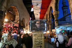 عدسة مصور تسجل حياة يومية لأهل دمشق وسط النيران (8) - People's Daily Online