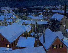 """Rockport Rooftops"" by Stapleton Kearns"