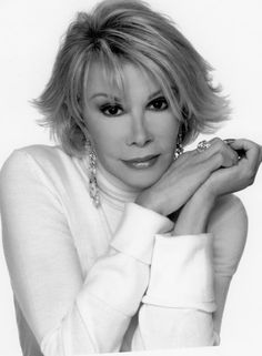 So many people hate Joan Rivers but I love her so much. She is funny, smart, and strong.
