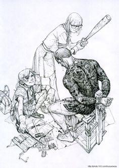 Kim Jung Gi - Sketch Collection: