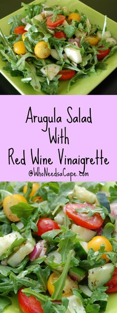 Arugula Salad with R